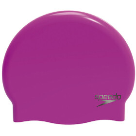 speedo Plain Moulded Cuffia rosa